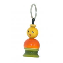 Wooden Key Chain - Pappu