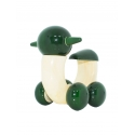Snail Scooter - Tiny wooden Scooter by Channapatna Toys- Wooden vehicle toy - Non-toxic toys