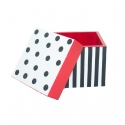 Dots n Stripes - Multipurpose wooden Box