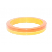 "Wooden Bangles - 0.5"" - Squared"