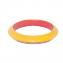 "Wooden Bangles - 0.5"" - Edged"