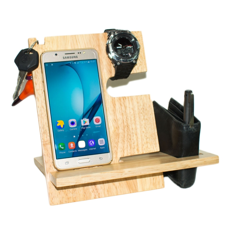 Desk Organizer Custom Wooden Engraved Gifts Corporate