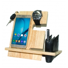 Desk Organizer- Watch, Mobile, Wallet & Key Holder