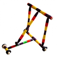 Wooden walker for kids