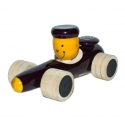 Ferrari Ride - The Wooden toys Car - Wooden push pull toy - Toys cars by Channapatna Toys - Elegantly designed vehicles