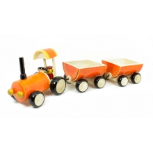 Double luggage Tractor