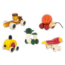 Baby Toy Set - Crazy Vehicles