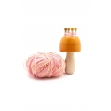 Toadstool Knitter- The French Knitter - crafty & Creative Toys by Channapatna Toys - Simple weaving knitter