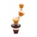 Cactus Stacktus - The Stacking and Balancing Puzzle by Channapatna Toys - Montessori toys - Non-toxic toys