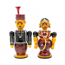 Traditional Couple - Antique