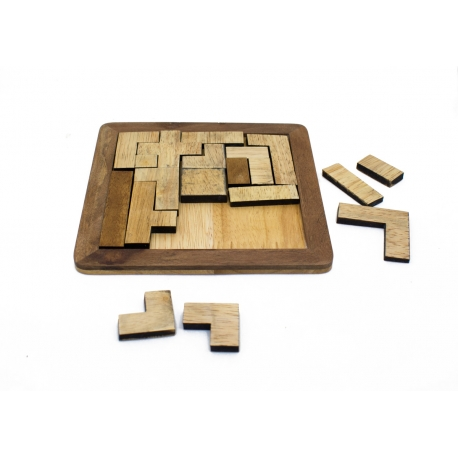 The Shapes - Board Puzzle