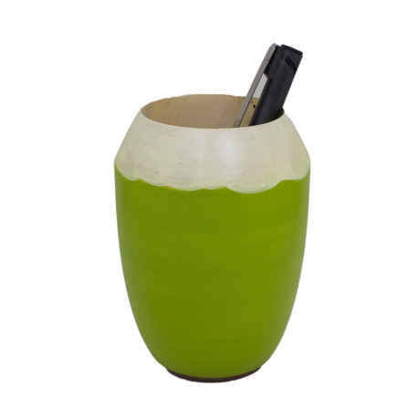 Pen Holder - Coconut