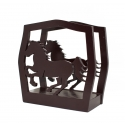 Tissue Holder - Brown Horse