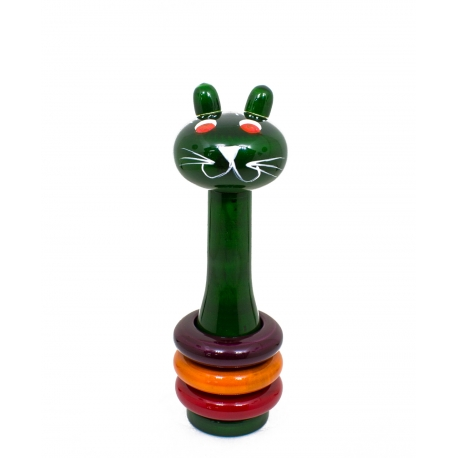 Clattery Cat - Rattle for kids