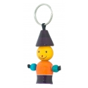 Wooden Key Chain - Man - Wooden Handcrafted - Lacquare - Channapatna toys