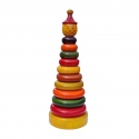 Jolly Joker - The Ringset Puzzle - Learning and Educational toys of kids by Channapatna Toys