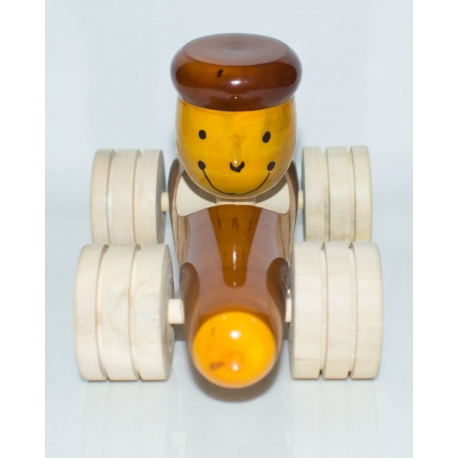 Ferrari Ride - The Wooden Car